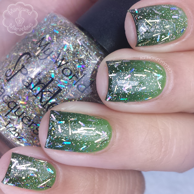 My World Sparkles Lacquers - Tinsel Town