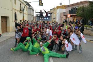 Ketaminan, Carnaval 2017 Sant Jaume dels Domenys