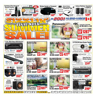 2001 Audio Video Flyer valid April 3 - 9, 2020