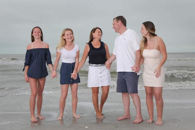 family on sanibel island