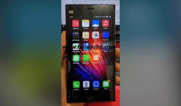 Tutorial install Android Marshmallow MIUI 7 Pada Xiaomi MI3