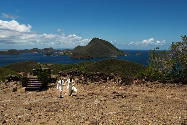 panorama-Terre de Haut-mariage-Les Saintes-Guadeloupe