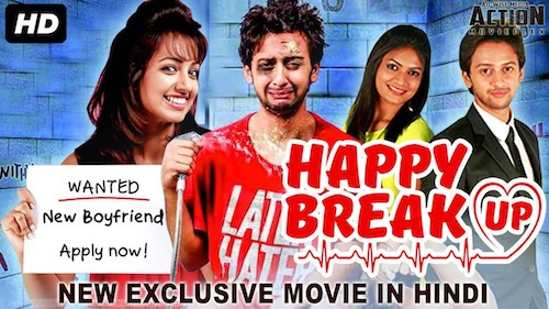 Watch Online Happy Breakup 2019 Hindi Dubbed HDRip 480p 300Mb Free Download bolly4ufree.in