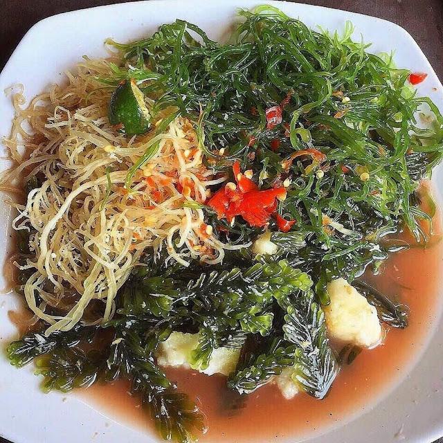 Rujak Bulung Buni Kuah Pindang, Kuliner Khas Bali yang Begitu Menyehatkan