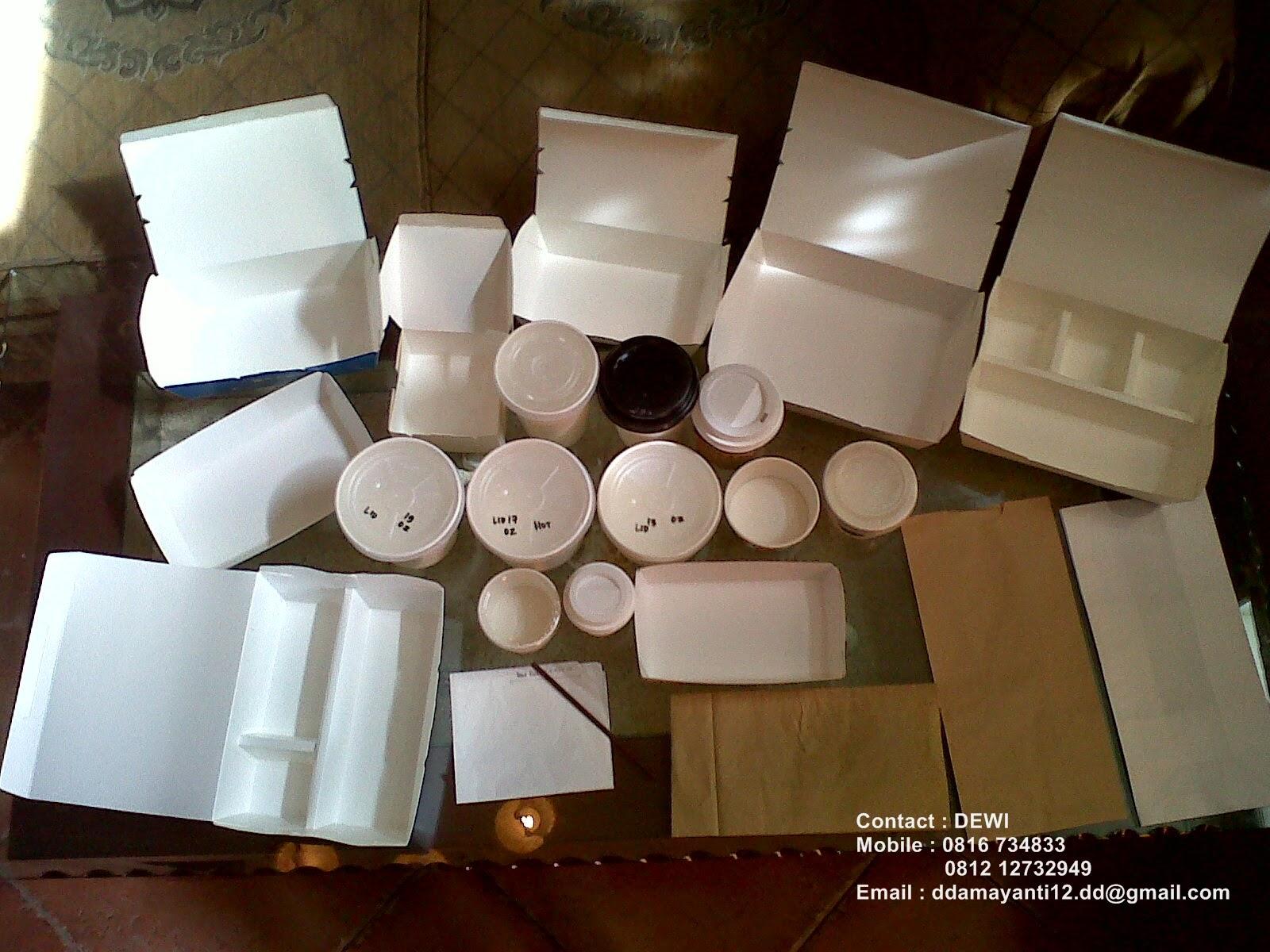 Bento Box Paper Partisi Minimal Order HANYA 1 Karton