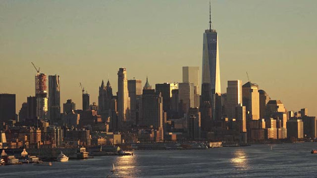 famous suicide points, new york skyline