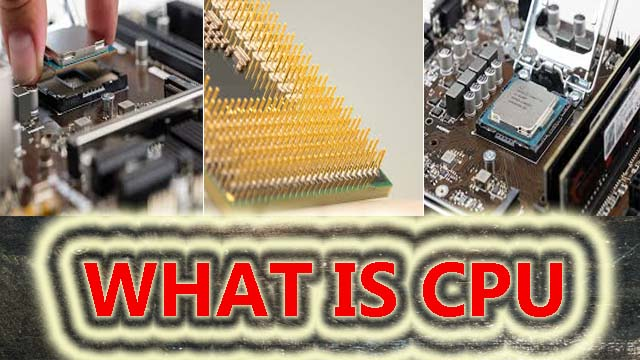 What is CPU in computer?types of cpu