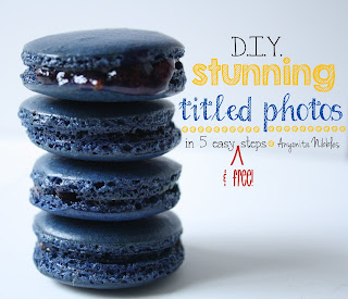 DIY Stunning Titled Photos in 5 Easy and Free Steps from www.anyonita-nibbles.com