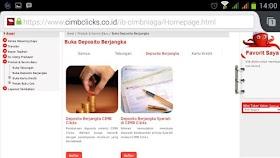 Deposito Online CIMB Niaga Praktis dan Aman