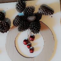 tuto tutoriel photo pas à pas réaliser diy fabriquer couronne noel pommes de pin