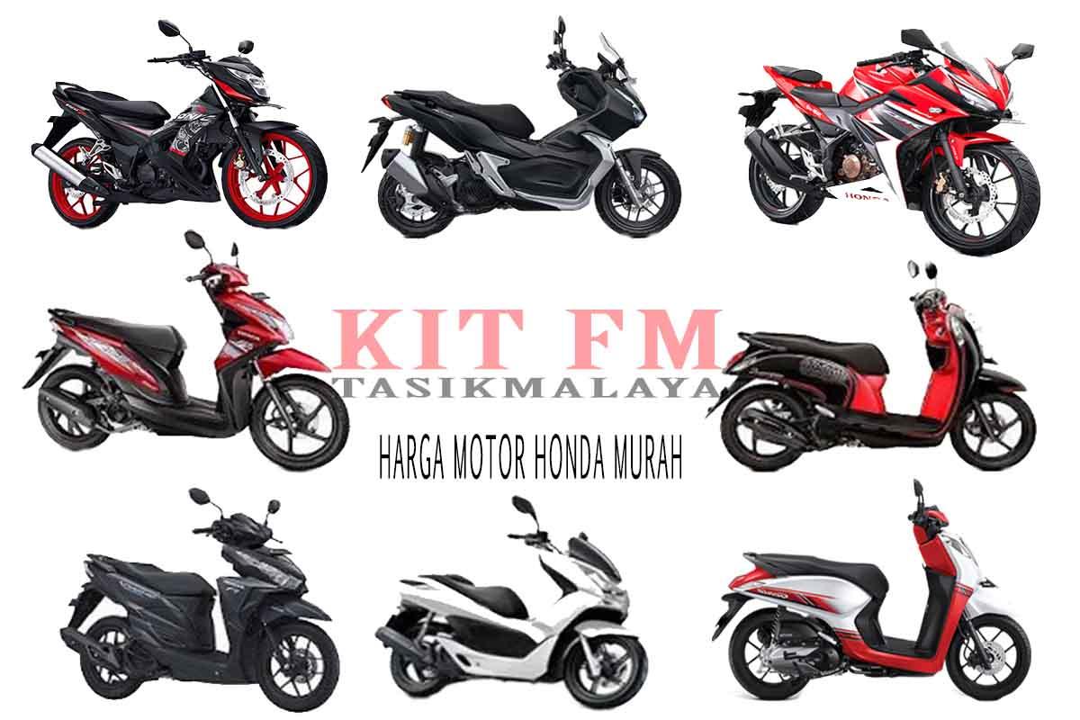 Daftar Harga Motor Honda Murah Baru Bekas Tahun 2020 ...