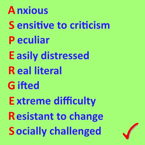 Aspergers symptoms ~ world of knowledge