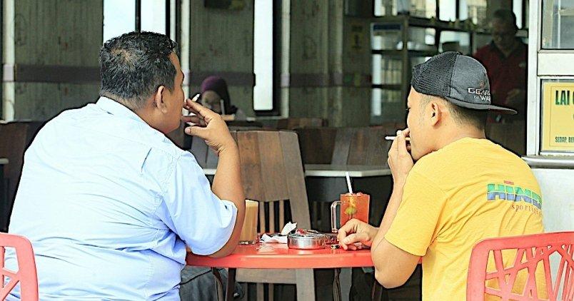 Image result for merokok kedai m akan