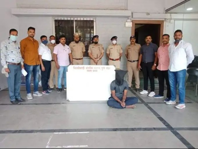 भरदिवसा जेष्ठ महिलेचे मंगळसूत्र हिसकाविणाऱ्या चोरट्याला बिबवेवाडी पोलिसांनी अटक केले
