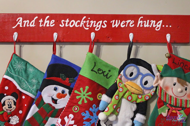 Wood Stocking Holder, DIY Wood Stocking Holder, DIY  Stocking Holder, Holiday craft, DIY crafts, DIY Christmas Decor, Christmas Decor, wood craft, stocking holder, cheap stocking holder, the stockings were hung, Stocking Holder How To, Cheap Christmas Decor, Stocking Holder sayings, cute stocking holder, christmas stocking holder, Christmas, Christmas crafts, easy Christmas decor, homemade stocking holder, stocking hooks, stocking hangers