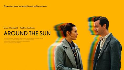 around the sun film poster