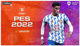 Download PES 2022 PPSSPP New Update Transfer 2021/22 & Commentary Peter Drury
