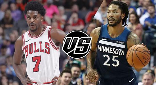 Live Streaming List: Chicago Bulls vs Minnesota Timberwolves 2018-2019 NBA Season