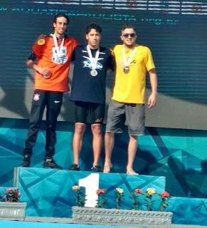 Nadador registrense é campeão paulista no XXIV Troféu Kim Mollo