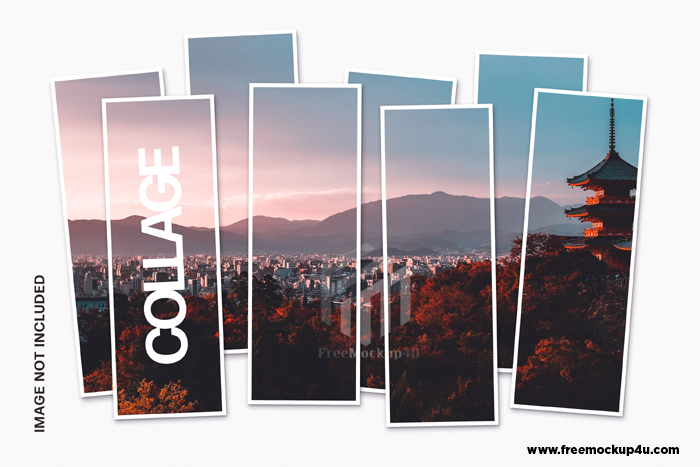 Collage Photo Frames Template Free Download