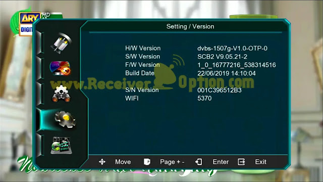 1507G & 1506G 4MB HEVC 2.65 SUPPORT OLD SOFTWARE ARY DIGITAL HD OK