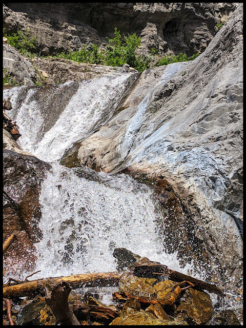 Bottom Section of Lost Falls in Provo Canyon