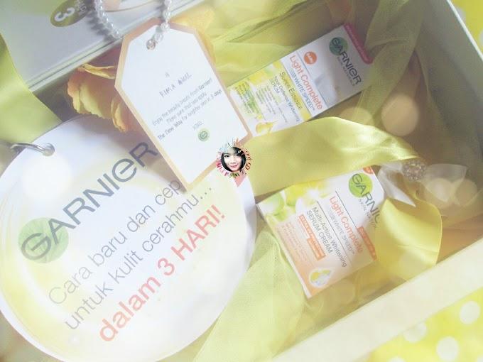 Unboxing Garnier Light Complete - Cerah dalam 3 hari