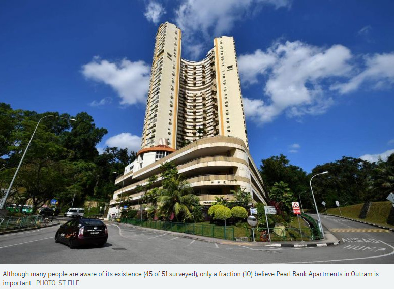 Many In The Architecture And Heritage Communities Believe Horseshoe Shaped Pearl Bank Apartments Outram Which Is At Risk Of Demolition A