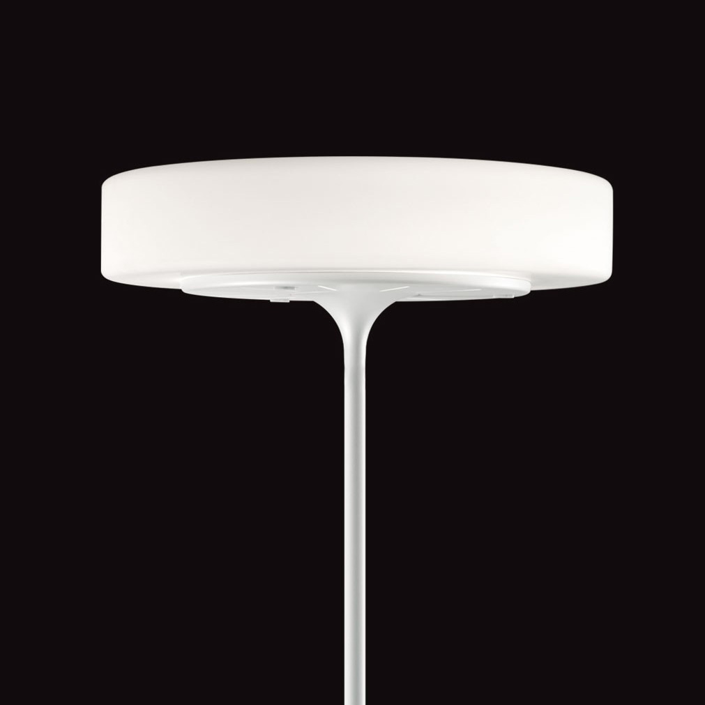 Ultra Modern Kundalini Glass Eero Floor Lamp with Slender
