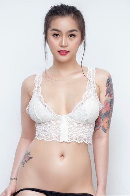 Hot and sexy photos of beautiful busty asian hottie chick Pinay tattoed model Jennifer Del Rosario photo highlights on Pinays Finest sexy nude photo collection site.