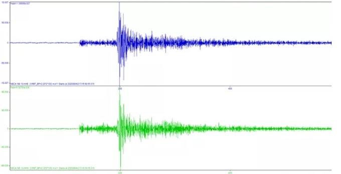 Tremor de magnitude 2.0 é registrado em Lajedo, no Agreste