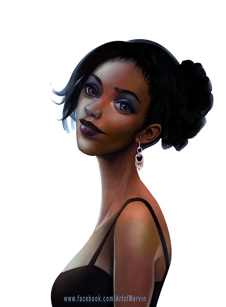 A incrível arte digital de Mervin Kaunda