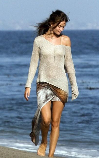 Alyssa In Wonderland Helmut Lang Skirt