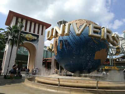 Tiket nak masuk Universal Studio Singapore (USS) pula pada harga SD76