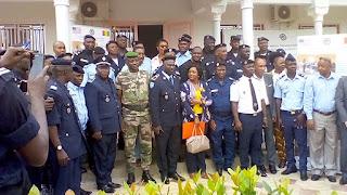 Kindia: Ouverture de l'atelier de formation des policiers formateurs référents.