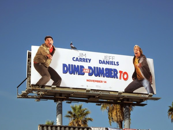 Special Dumb and Dumber To movie billboard
