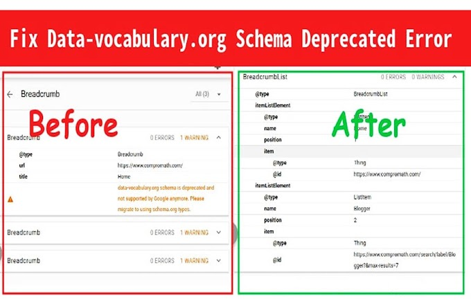 "Solusi Breadcrumb Error ""data-vocabulary.org"" ""Schema Deprecated"""