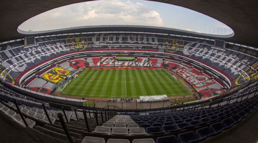 The 10 biggest football soccer stadiums in the world for Puerta 1 estadio azteca