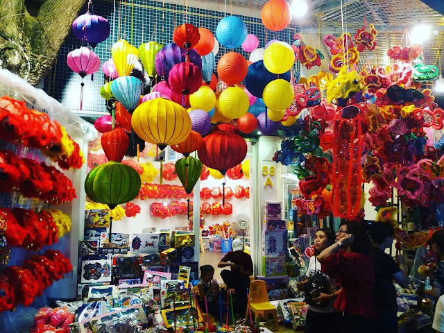 mercado nocturno hanoi