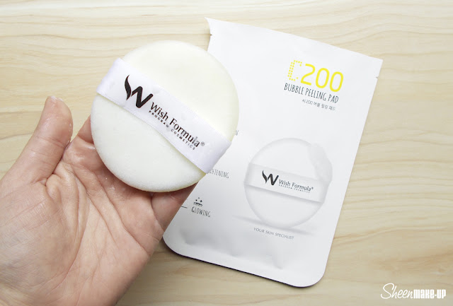 C200 Bubble Peeling pad Wish Formula