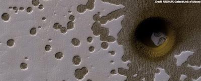 Mystery Hole On Mars