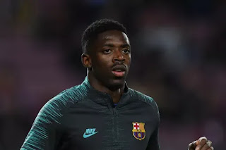 Ousmane Dembele joins full training with Barcelona after Valencia defeat
