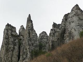 Белокузьминовские меловые скалы.
