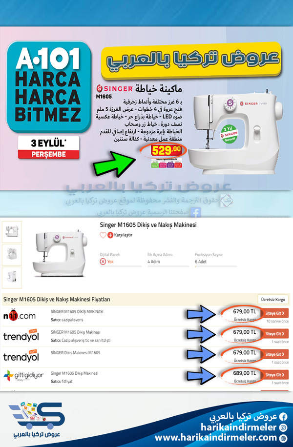 أسعار عروض اليوزبير A101
