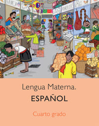 Libro de texto Español Cuarto grado 2021-2022