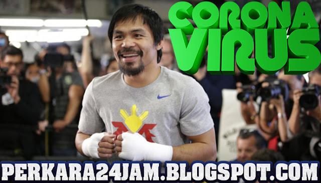 Petinju Kelas Dunia Manny Pasquiao Klaim Bebas Virus Corona