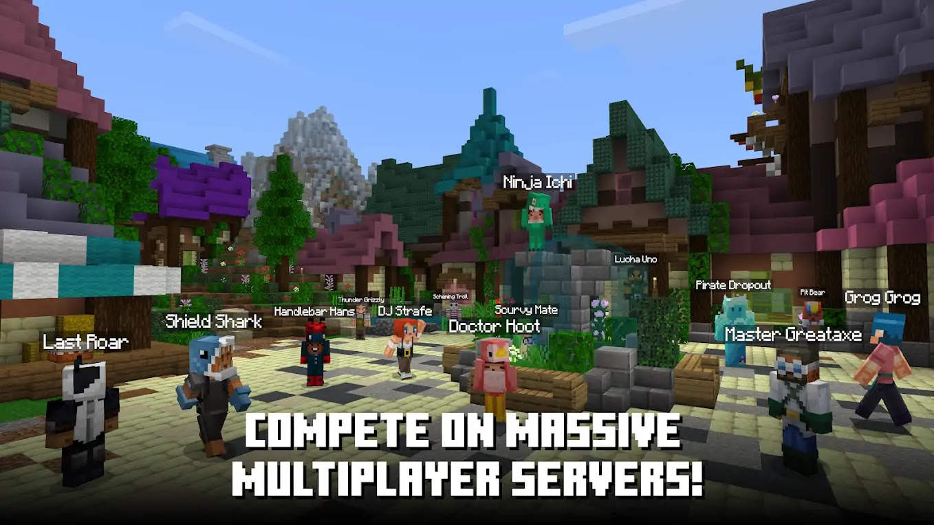 Minecraft MOD APK 1.16.40.02 (Mod Menu, Premium, Skin Editor, All Skins Unlocked, God Mod, High Damage, Unlocked, Online, Xbox Servers, License Removed) Download Original and Beta Apk and Mod Menu Apk For Android - Minecraft is an arcade sandbox game developed by Mojang. It was released in 2009 for PC. Later Mojang released Minecraft Pocket Edition for mobile phones. The mobile version of the game was released in August 2011 for Xperia Play, Later, after a month it becomes available for other android devices. In November 2011, Mojang ported Minecraft PE to iOS devices. It was released for Windows Phone as well. - Free Cheats for Games