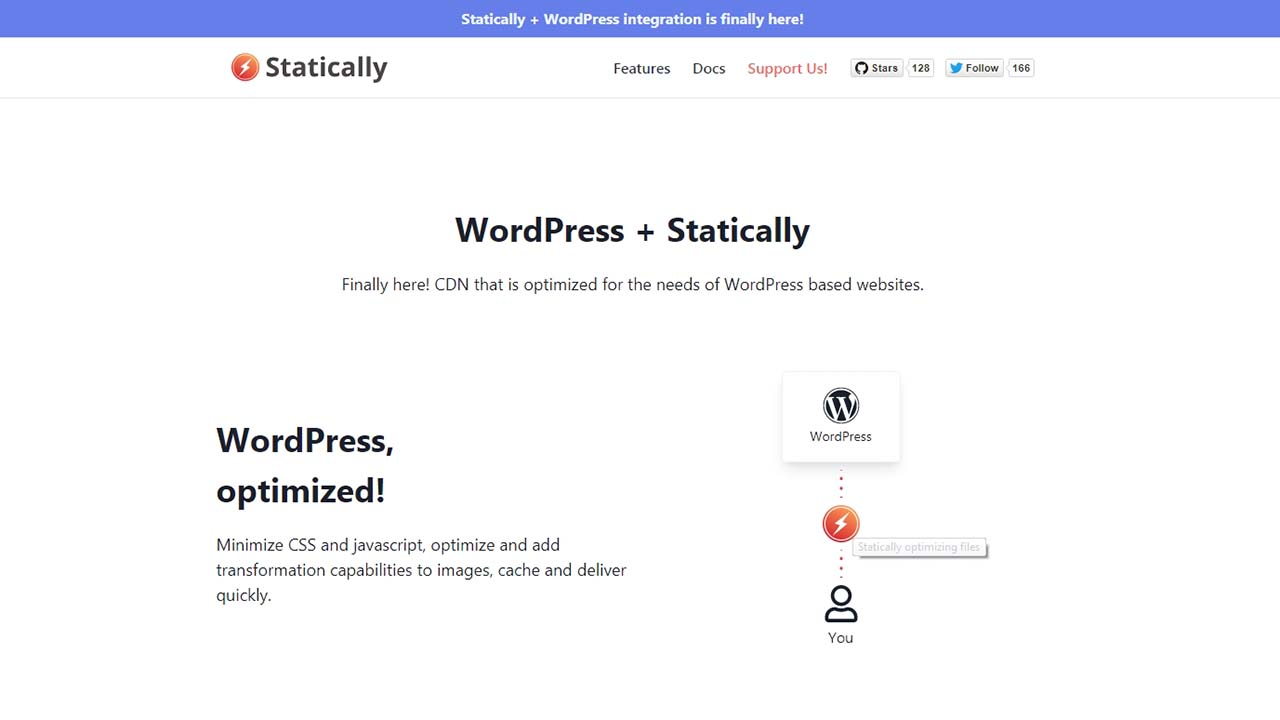 Optimalkan Wordpress Dengan Statically