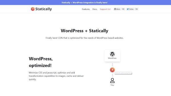 Optimalkan Wordpress Dengan Statically