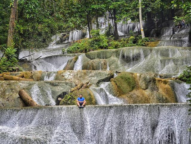 moramo waterfall Southeast Sulawesi Indonesia